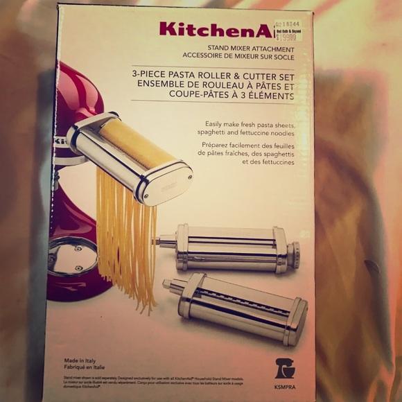 58e416c25dccf KitchenAid 3-Piece Pasta Maker   Cutter Attachment